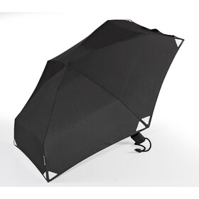 EuroSchirm Dainty Automatic Umbrella black/reflective